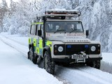 Land Rover Defender 110 Station Wagon Ambulance 2007 wallpapers