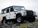 Land Rover Defender Ice 2009 wallpapers