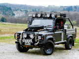 Land Rover Defender 90 Tomb Raider 2001 pictures