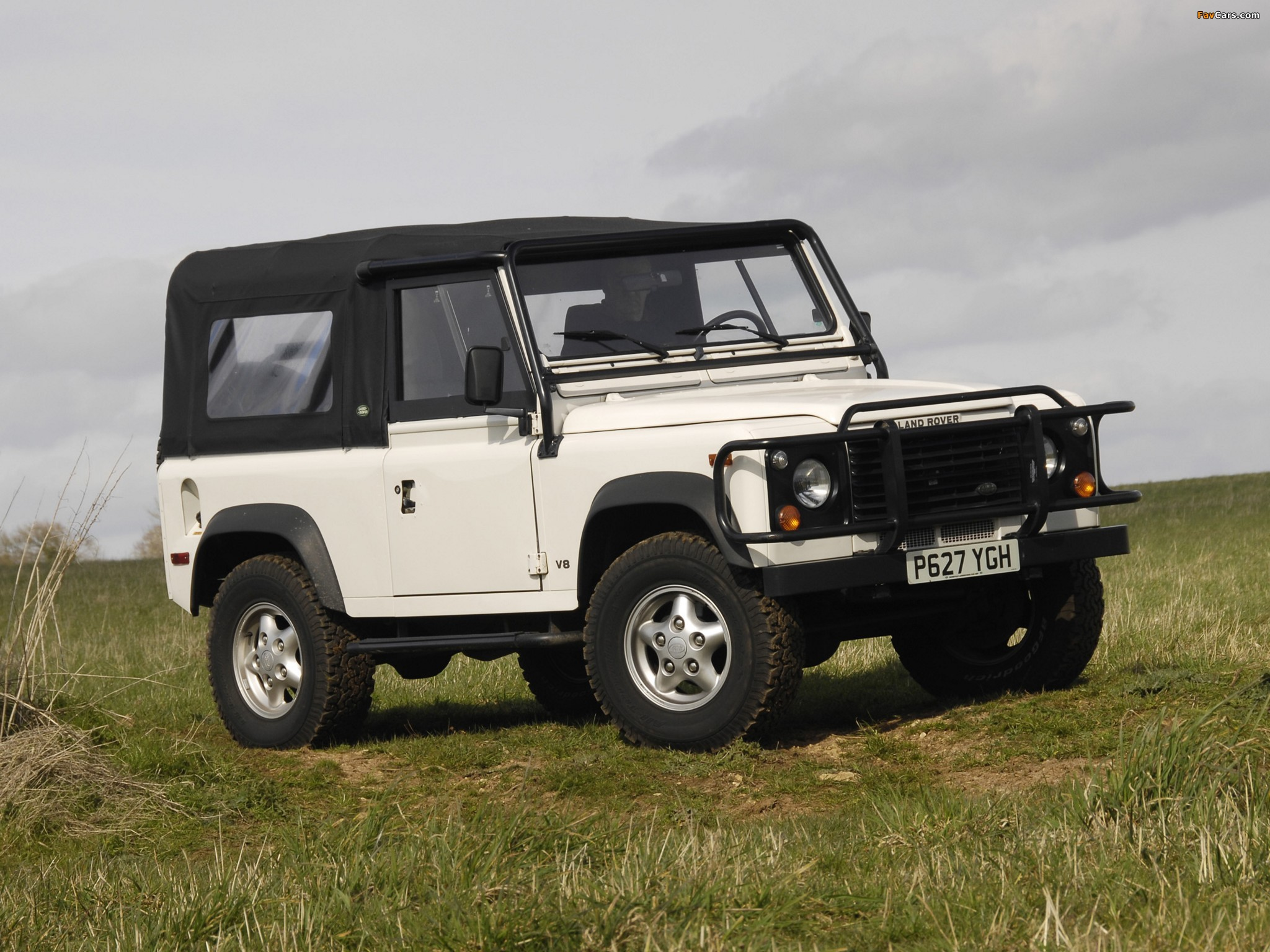 Photos Of Land Rover Defender 90 Nas Soft Top 1993 97