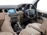 Land Rover Discovery 4 3.0 TDV6 ZA-spec 2009–13 photos