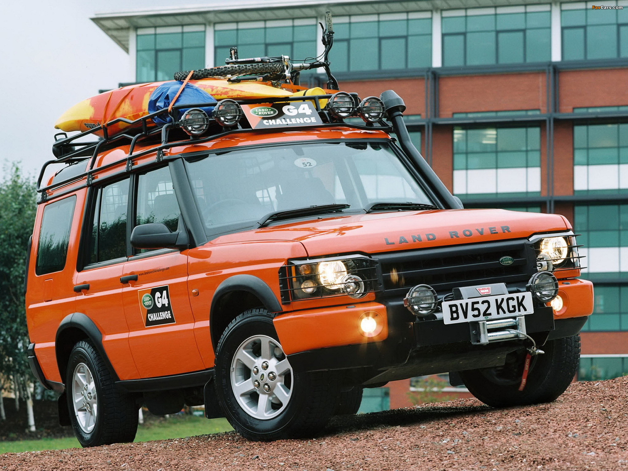 Land Rover Discovery G4 Edition 2003 pictures (2048x1536)