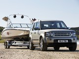 Land Rover Discovery 4 SDV6 HSE UK-spec 2009 wallpapers