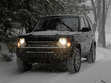 Wallpapers of Land Rover LR3 2008–09