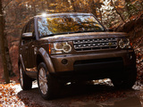 Land Rover LR4 2009 wallpapers