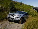 Range Rover Evoque Coupe Si4 Prestige UK-spec 2011 pictures