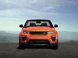 Range Rover Evoque Convertible 2016 wallpapers