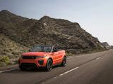 Photos of Range Rover Evoque Convertible 2016