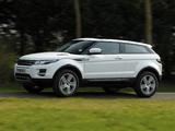 Pictures of Range Rover Evoque Coupe eD4 Prestige UK-spec 2012