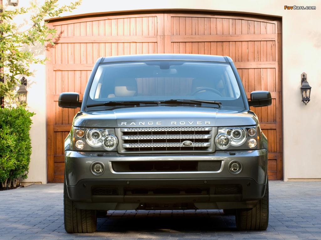 range rover sport supercharged us spec 2008 09 images. Black Bedroom Furniture Sets. Home Design Ideas