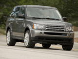 Range Rover Sport Supercharged US-spec 2008–09 photos