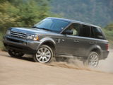 Photos of Range Rover Sport Supercharged US-spec 2008–09