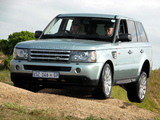 Pictures of Range Rover Sport ZA-spec 2005–08