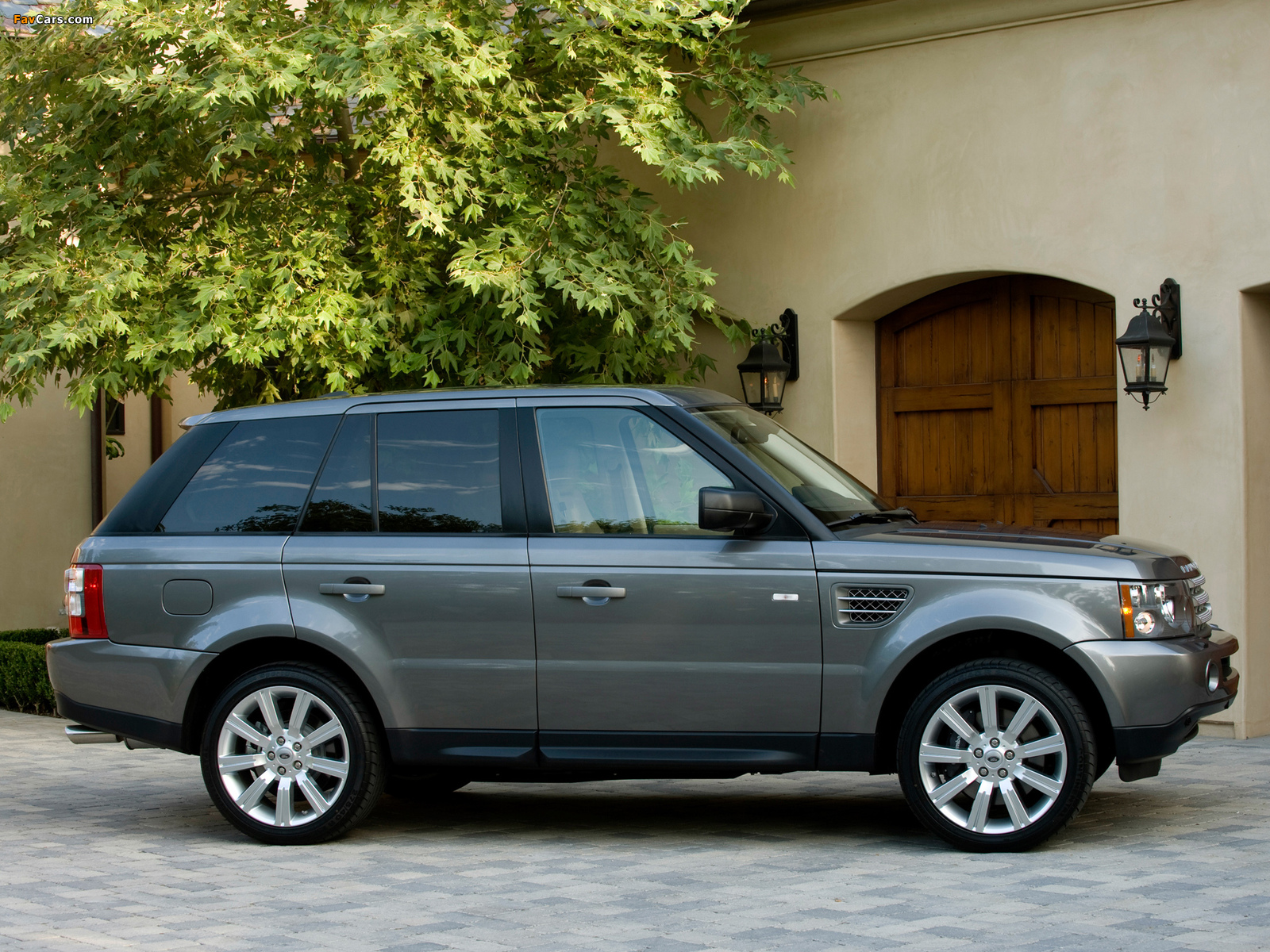 Pictures of range rover sport supercharged us spec 2008 09 1600x1200