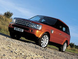 Wallpapers of Range Rover Sport Supercharged 2005–08