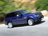 Wallpapers of Range Rover Sport Supercharged ZA-spec 2009–13