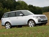 Range Rover Hybrid (L405) 2014 pictures