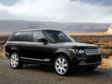 Pictures of Range Rover Autobiography V8 US-spec (L405) 2013