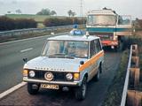 Wallpapers of Range Rover 3-door Police 1970–86