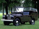 Images of Land Rover Series I Royal Car 1954