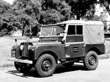 Land Rover Series I 86 Soft Top 1954–57 pictures