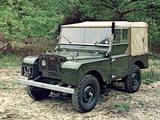 Land Rover Series I 80 Soft Top 1948–54 photos