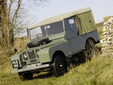 Land Rover Series I 80 Soft Top 1948–54 pictures