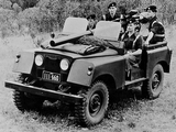 Land Rover Series II 88 Gunbuggy with 106 mm RCL 1959 images