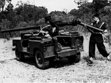 Land Rover Series II 88 Gunbuggy with 106 mm RCL 1959 wallpapers