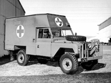 Land Rover Series IIA 109 GS Ambulance 1963–67 images