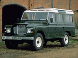 Land Rover Series III 109 1971–79 wallpapers