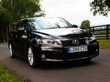 Images of Lexus CT 200h UK-spec 2010–14