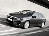 Lexus CT 200h EU-spec 2010–14 wallpapers