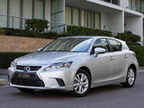 Lexus CT 200h AU-spec 2014 images