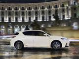 Lexus CT 200h F-Sport EU-spec 2014 photos