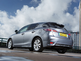 Lexus CT 200h UK-spec 2014 photos