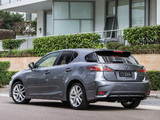 Lexus CT 200h AU-spec 2014 photos