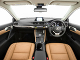 Lexus CT 200h AU-spec 2014 pictures