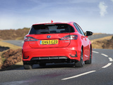 Lexus CT 200h F-Sport UK-spec 2014 pictures