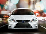 Photos of Lexus CT 200h 2014