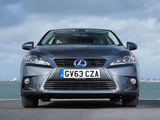 Photos of Lexus CT 200h UK-spec 2014