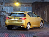 Photos of Lexus CT 200h ZA-spec 2014