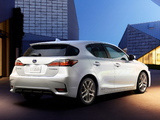 Pictures of Lexus CT 200h 2014