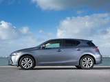 Pictures of Lexus CT 200h UK-spec 2014