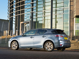 Lexus CT 200h UK-spec 2014 wallpapers
