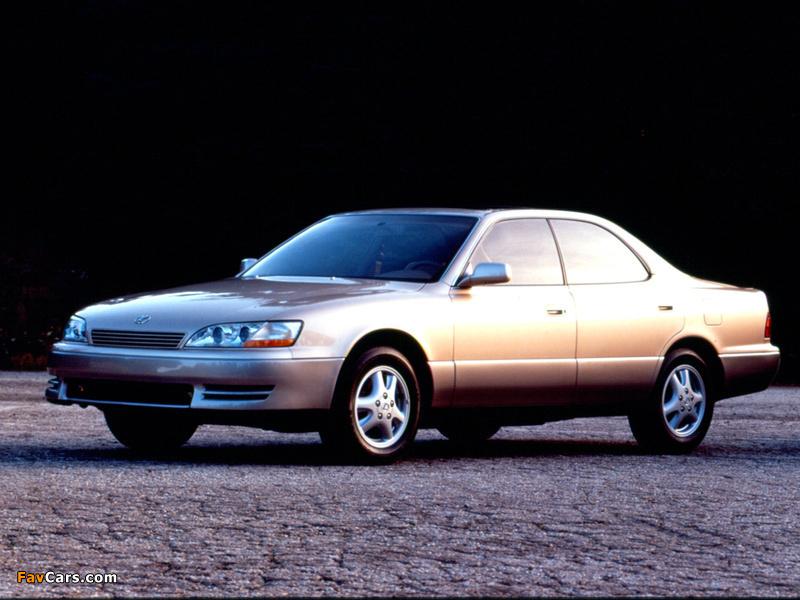 Pictures Of Lexus Es 300 1992 96 800x600