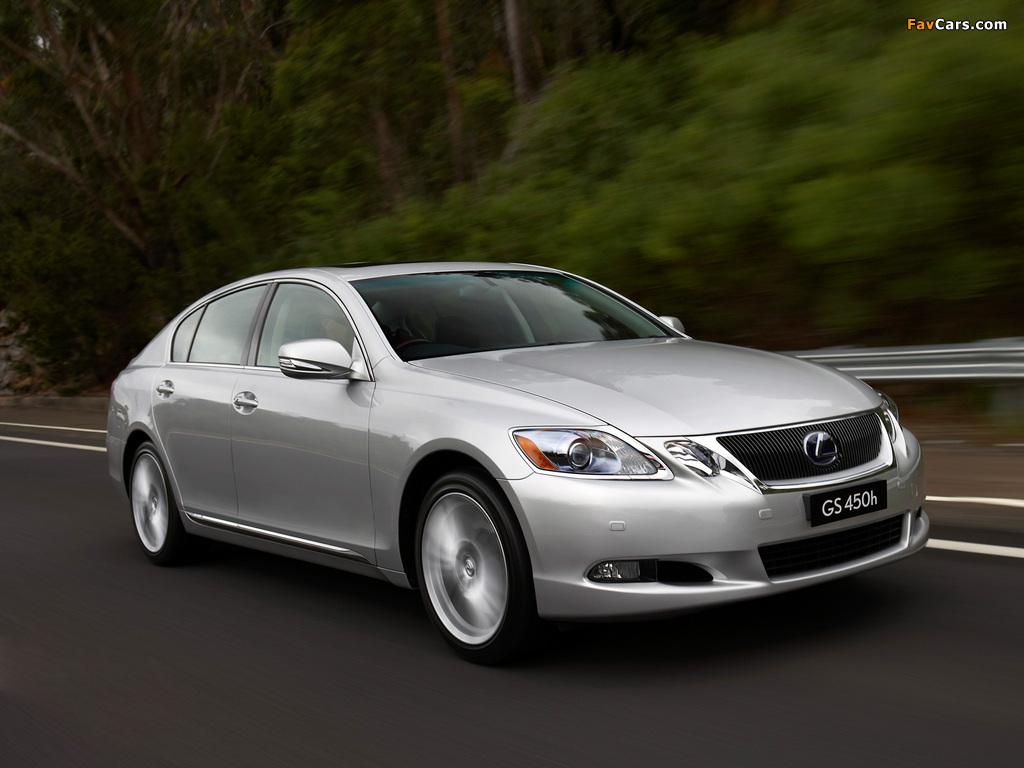 Lexus Is 450 >> Images of Lexus GS 450h AU-spec 2006–08 (1024x768)