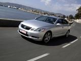 Lexus GS 430 EU-spec 2005–08 photos