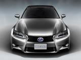Lexus GS 450h JP-spec 2012 pictures