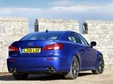 Lexus IS F UK-spec (XE20) 2008–10 pictures